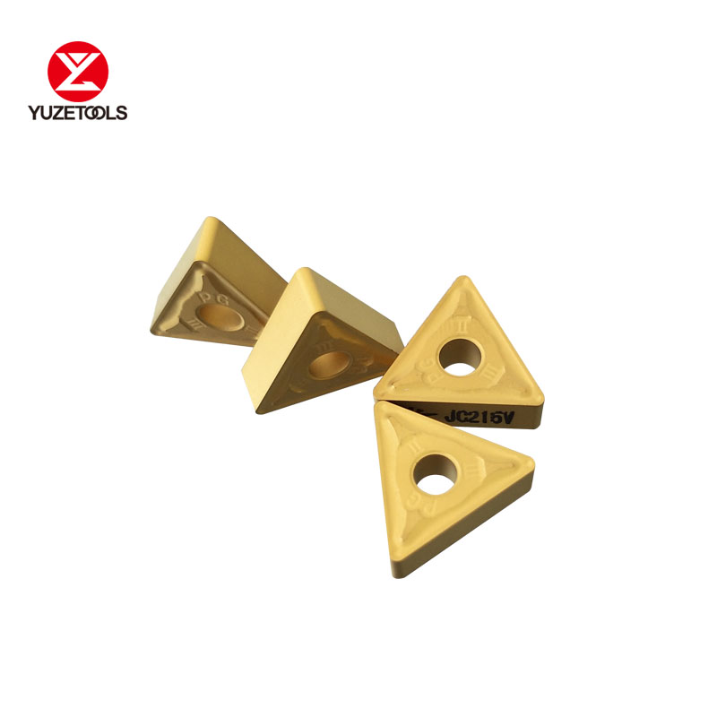 High quality and High-precision DIJET turning inserts TNMG160408-PG JC215V Triangular for industrial use